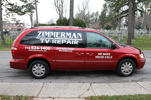 Zimmerman TV, tv repair, vcr repair